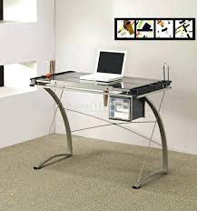 glass office furniture. Office Desk Glass Medium Size Of And Wood . Furniture