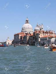 Dome Of Madonna Della Salute Church And Boats In Venice Italy Stock Photo,  Picture And Royalty Free Image. Image 130774460.