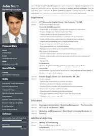Resume With Photo Resume Templates