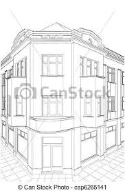 attic clipart black and white. Beautiful Black Building Corner Residential House  Csp6265141 In Attic Clipart Black And White O