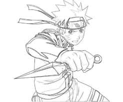 Lovely Naruto Coloring With Kakashi Doyanqqme