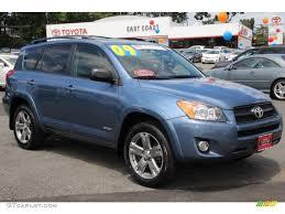 2009 Pacific Blue Metallic Toyota RAV4 Sport 4WD #83883872 ...