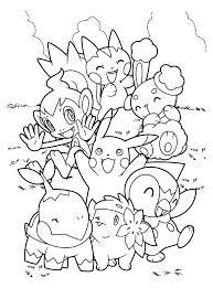 Coloriage De Tout Les Pokemon A Imprimer