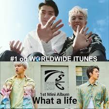 World Itunes Album Chart Exos Sehun And Chanyeol Shoot To 1 On The Worldwide