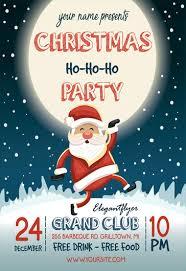 Free Christmas Flyer Templates In Psd By Elegantflyer