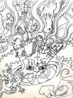 Small Picture Free Adult coloring pages Printable Psychedelic coloring pages