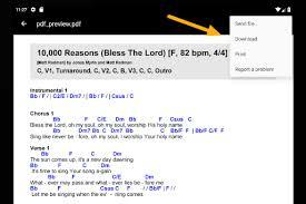 Edit Lyrics And Chords Music Stand