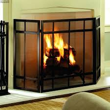 brass fireplace screen with glass doors free standing fireplace screen with glass doors woodeze single panel