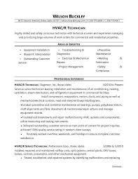 Hvac Technician Resume Cool Hvac Resume Examples Free Career Resume