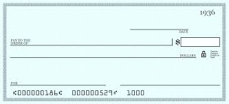 Blank Cheque Template Gorgeous A Large Blank Cheque Template Presentation Checks Free 48 Novelty