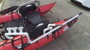 pvc based customizations to my outcast fishcat streamer xl ir inflatable pontoon boat