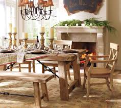 Dining Tables Pottery Barn Living Room Tables Chairside End