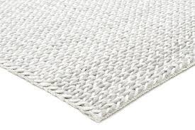 white woven rug grey braided wool viscose rug black white woven rug