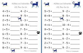 Grade Worksheet: 1st Grade Math Worksheets Addition And ...