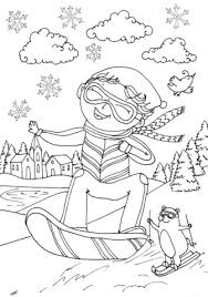 Small Picture Peter Boy in February coloring page Free Printable Coloring Pages