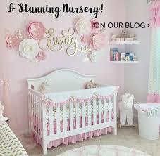 pink gold nursery nursery nursery