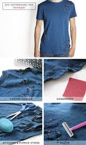 Make Your Shirt Diy Distressed T Shirt And Jeans American Eagle Blog