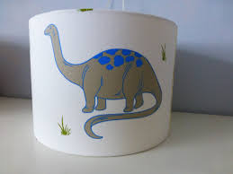 laura ashley red blue dinosaur fabric ceiling table drum lampshade 30cm 20cm