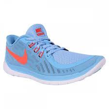 Nike Free 5 0 Youth Training Shoes Blue Lagoon Bright Crimson
