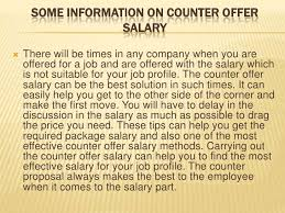 counter offer salary Counter offer salary ... first.counter offer salary ...