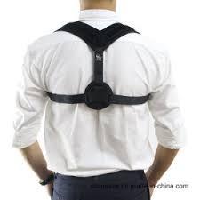 2018 Hot Selling Adjustable Posture Corrector Brace Shoulder Back Support for Men and Women China