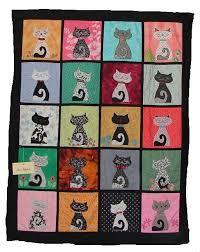 721 best CAT QUILTS images on Pinterest | DIY, Baby bibs and Cat app & Cat quilt Adamdwight.com