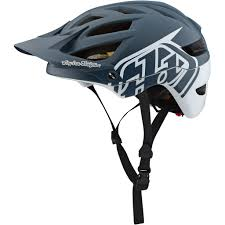 Troy Lee Designs A1 Troy Lee Designs A1 Classic Mips Helmet Gray White