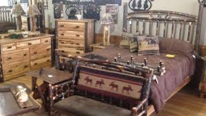 log rustic furniture amish. Miller\u0027s Rustic Furniture Log Amish U