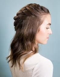 Layered Braids Hairstyles Boho Side Braid Instylecom