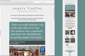 Findlay Web Design Angela Findlay Jo Mew Creative