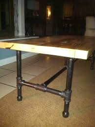 Industrial Pipe Coffee Table Similiar Iron Pipe Table Legs Keywords