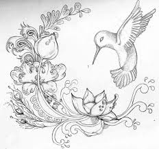 1100x1031 pencil drawings of flowers and birds pencil drawings of flowers