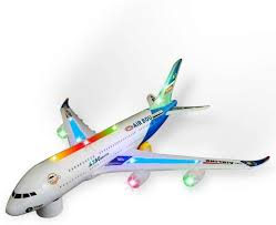 FTAFAT Airbus A380 <b>Airplane Model</b> Toys With Loud Musical ...