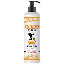 Шампунь <b>Good Dog</b> для собак с короткой шерстью <b>увлажнение и</b> ...