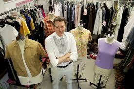 Costume Designer Ctc Costume Designer Richard St Clair Brings Vintage Duds