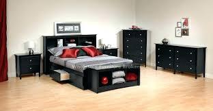 black queen bedroom sets. White Queen Storage Bedroom Set Black Sets Furniture D