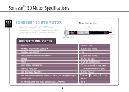 somfy sonesse st30 rts 24v dc rollup motor 1001524 automated somfy switch wiring diagram specifications click here