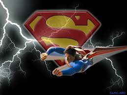 superman flying logo wallpapers