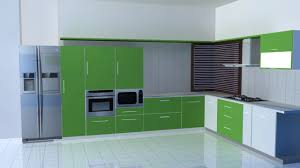 Kitchen Color Combination Bright Accent Wall Color Scheme Of Modern Kitchen Design