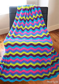 Ripple Afghan Pattern Free Extraordinary Free Crochet Pattern Ripple Afghan Charmed By Ewe