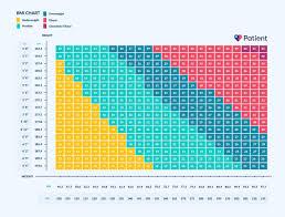 Bmi Height Weight Chart Height Weight Chart Female Bmi Height Weight Charts Ottoman