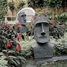 design toscano easter island moai monolith garden statue by design toscano for homeware in australia
