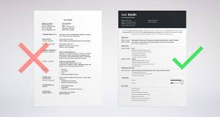 Layout Of A Resume