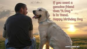 Quotes About Dogs And Friendship Simple Happy Birthday Wishes For Dog Quotes Images Memes Happy Wishes