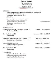 Best Buy Resume Examples Desktop Technician Resume Example Trevor Dalton 7716
