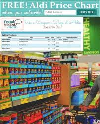 Free Aldi Price Chart Aldi Prices Price Chart Frugal