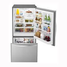 Pc Richards Kitchen Appliances Whirlpool 1867 Cu Ft Bottom Freezer Refrigerator Stainless