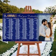 Blue Sky Filing Chart Wedding Seating Chart Rush Service Photo Arrivals