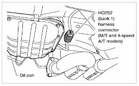 2004 2006 nissan maxima o2 sensor identification and location