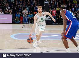 ISTANBUL / TURKEY - FEBRUARY 7, 2020: Thomas Walkup and Chris Singleton  during EuroLeague 2019-20 Round 24 basketball game between Anadolu Efes and  Zalgiris Kaunas at Sinan Erdem Dome Stock Photo - Alamy